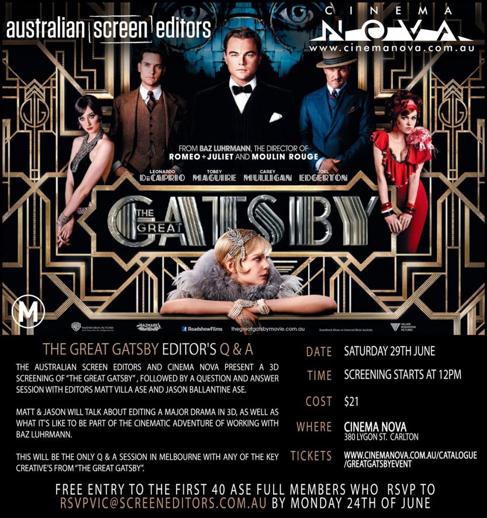 The Great Gatsby Q&A