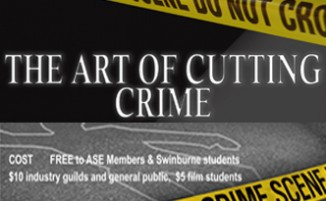 EVENT (VIC: Aug 21): The Art of Cutting Crime