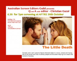 EVENT: Oct 30th (NSW) The Little Death