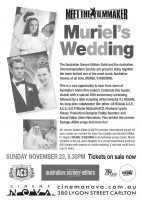 EVENT: Nov 23rd (VIC) Muriel's Wedding