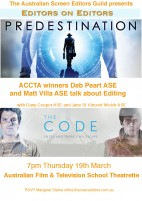 EVENT: EDITORS ON EDITORS (NSW)