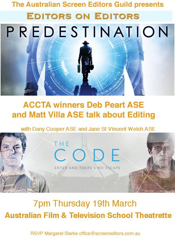 EVENT: EDITORS ON EDITORS (NSW)