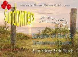EVENT: ASE March Sundowner (NSW)