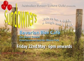 EVENT: ASE May Sundowner (NSW)