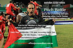 EVENT: PITCH BATTLE SCREENING, Q&A (NSW)
