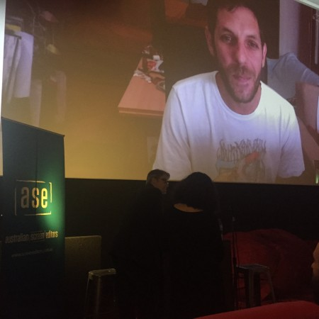 The Art and Craft of Editing. Matyas Fekete, editor of The Duke of Burgundy, Skyping in from Hungary