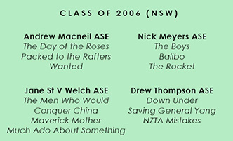 Photos ADDED NSW: 10th Anniversary '06 ASE Accreditees