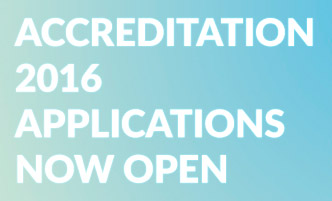 Accreditation 2016: Applications Open