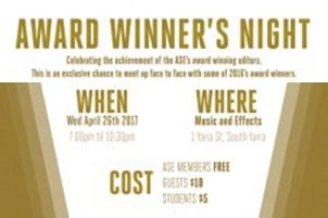 Award Winner's Night – Melbourne