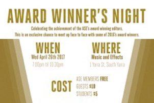Award Winner's Night – Melbourne