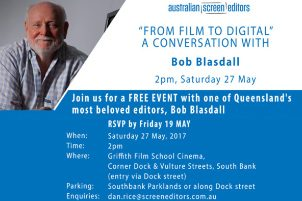 A Conversation With Bob Blasdall – Qld