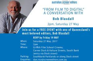 A Conversation With Bob Blasdall – Qld