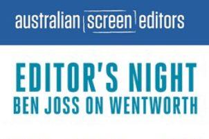 """Ben Joss on """"Wentworth"""" – Melbourne"""