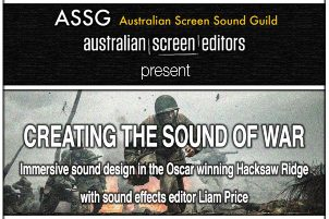 Creating the Sound of War – QLD