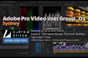 Adobe Video User Group – Sydney Report