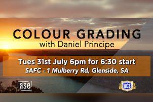 COLOUR GRADING WITH DANIEL PRINCIPE – SA