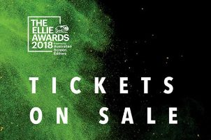 2018 ELLIE AWARDS – TICKETS ON SALE