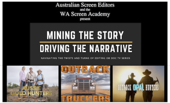 MINING THE STORY/DRIVING THE NARRATIVE – WA (Write-up)