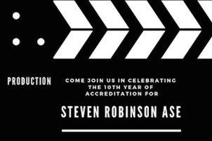 CELEBRATING STEVEN ROBINSON ASE – VIC
