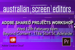 ADOBE SHARED PROJECTS WORKSHOP – SA