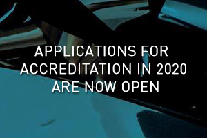 ACCREDITATION APPLICATIONS NOW OPEN