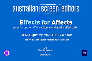 EFFECTS FOR AFFECTS – Members-Only Video