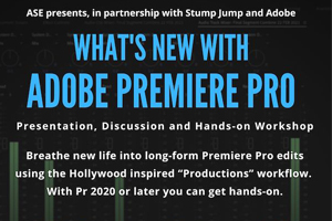 WHAT'S NEW WITH ADOBE PREMIERE PRO – Video